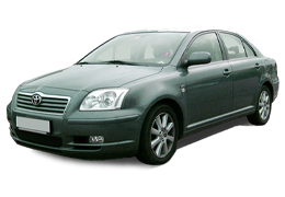 Багажник на крышу для Toyota (Тойота) Avensis 2 2003-2009