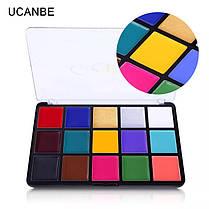 """УЦЕНКА! Краски для боди арта масляные набор 15 цветов """"CRUIZE"""", фото 3"""
