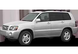 Багажник на крышу для Toyota (Тойота) Highlander 1 2001-2007