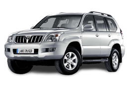 Багажник на крышу для Toyota (Тойота) LC Prado 120 2002-2009