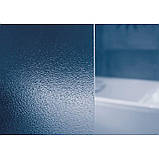 Штора д/ванни VS 2  105  Грейп, профіль білий, скло, фото 2