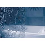 Штора д/ванни VS 3 130 Рейн, профіль білий, пласт. , фото 2