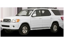 Багажник на крышу для Toyota (Тойота) Sequoia 1 2001-2007