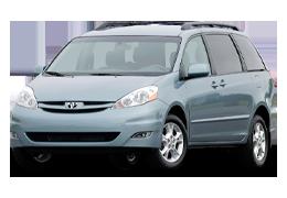 Багажник на крышу для Toyota (Тойота) Sienna 2 2003-2009