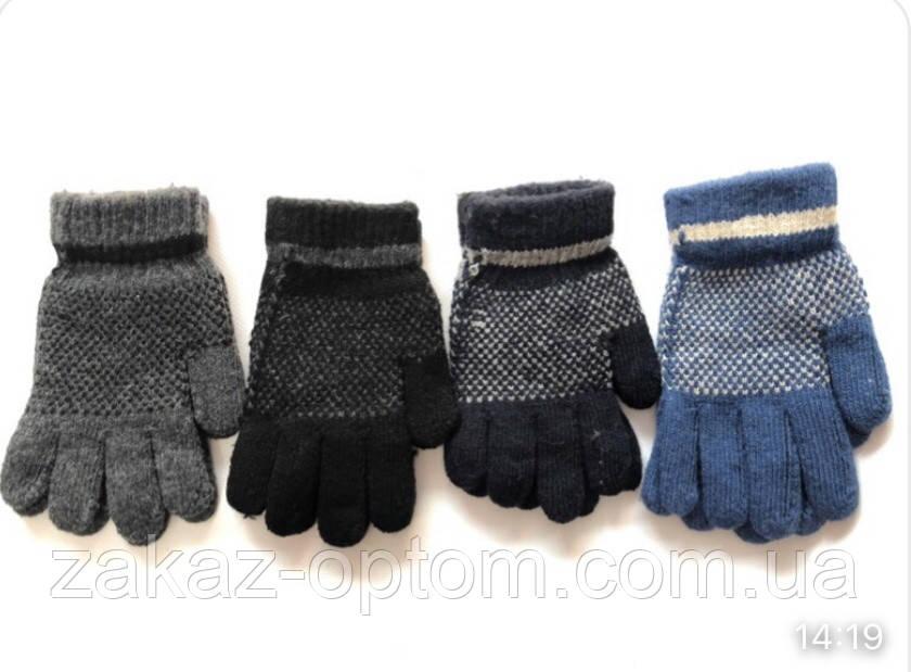 Перчатки детские оптом (5-7лет)Китай Е826-63261