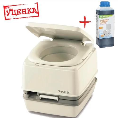 Біотуалет Thetford Porta Potti 145 (туалет для дачі, кемпінгу та догляду за хворими). Уцінка!