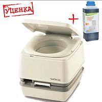 Біотуалет Thetford Porta Potti 145 (туалет для дачі, кемпінгу та догляду за хворими). Уцінка!, фото 1