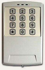 СКД монтаж установка системы контроля доступом Кодовый замок электронный