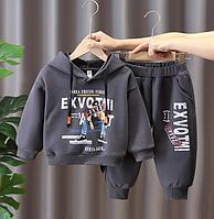 Костюм для хлопчиків на флісі / Костюм для мальчиков, детская осенне-зимняя одежда