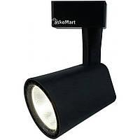 Светильник LED 20 Вт, Трековый черный, Work's TL20A-B (78234)