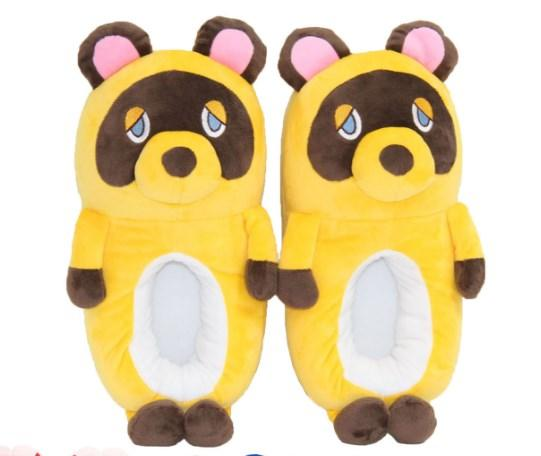 Тапочки Мишки плюшевые желтые, 36-40