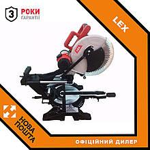 Пила торцювальна LEX LXCM212 : 2300 Вт - 305 мм диск   Лазерний покажчик   Ремінна передача
