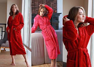 Женский махровий халат, фото 3
