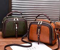 Стильная женская мини сумка через плечо. Маленькая сумочка клатч экокожа модная и стильная