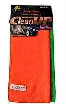 Комплект салфеток микрофибра из 2 шт CleanUP 30*40