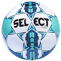 Мяч футбольный SELECT FORZA (белый-синий-зеленый)