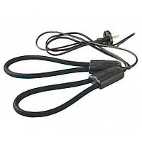 Дуговая электро-сушилка для обуви, Черная, электрическая сушка (сушарка для взуття)