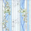 Обои бумажные Эксклюзив 068-02 голубой