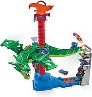 Трек Hot Wheels интерактивный игровой трек Хот Вилс Воздушная атака Дракона Hot Wheels Air Attack Dragon GJL13
