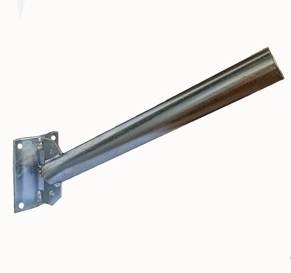 Кронштейн УНИВЕРСАЛЬНЫЙ Ф40 угол 45 градусов для светильника уличного освещения