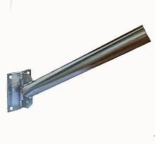 Кронштейн УНІВЕРСАЛЬНИЙ Ф40 кут 45 градусів для світильника вуличного освітлення