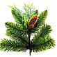 Искусственная елка «Амелия» 2,5 м, комбинированная 250 см из пленки ПВХ и литых веток, фото 2