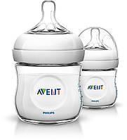 Avent Бутылочка для кормления Natural 125 мл 2шт.