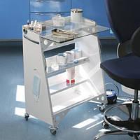 Столик «АНТИКРИЗИС» мобильный  медицинский прямоугольный