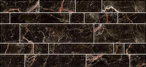 Плитка настенная Плаза черная