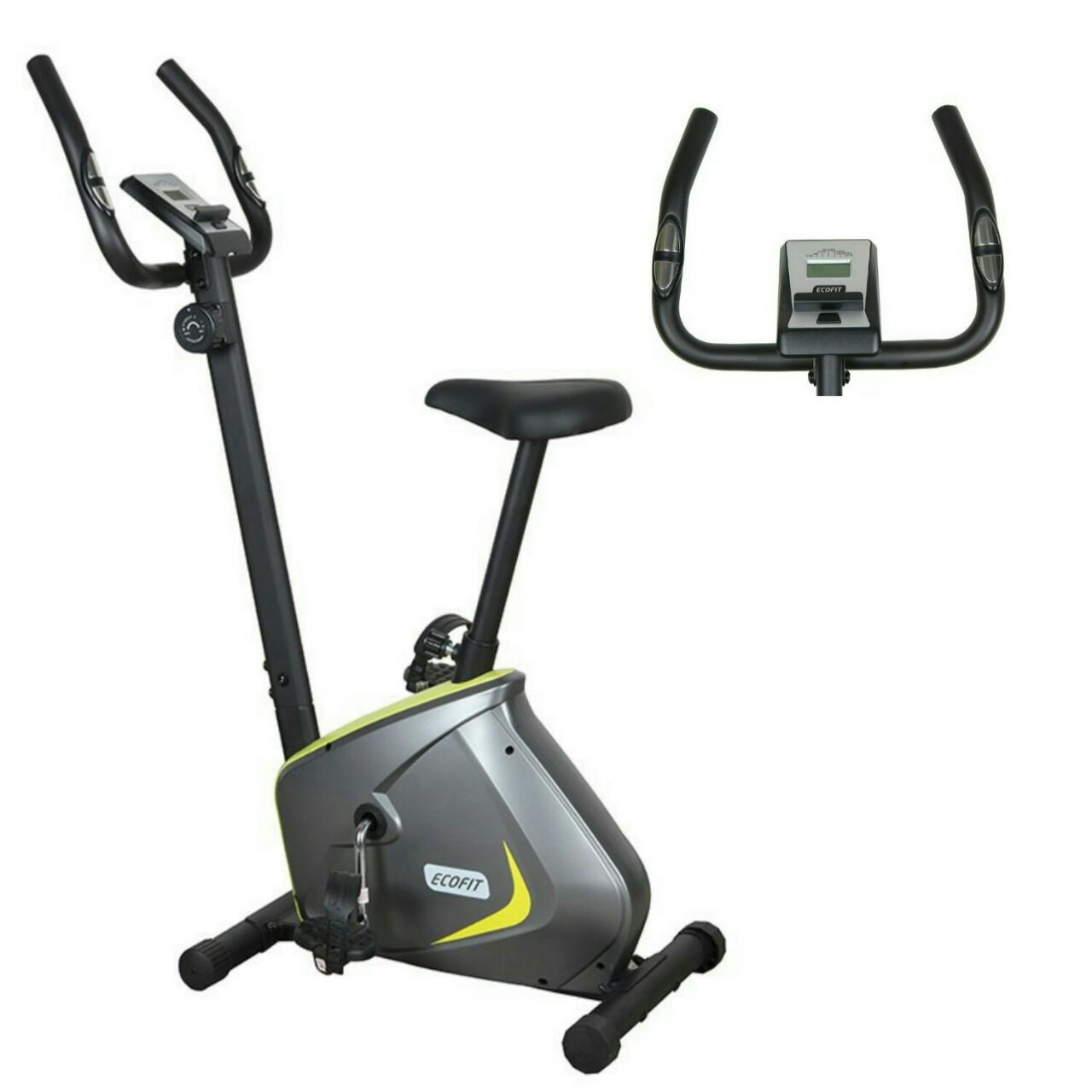 Акция! Магнитный велотренажер для дома велоэргометр Экофит EcoFit  E-510B + пояс-сауна в подарок!