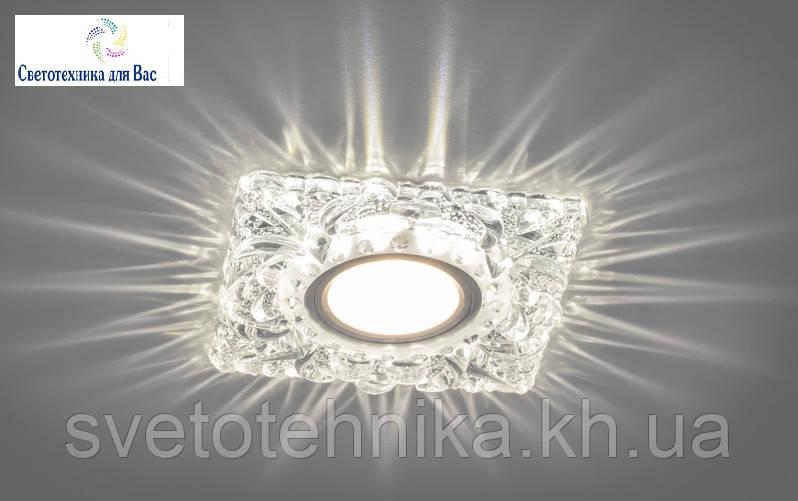Декоративный встраиваемый светильник с LED  подсветкой Z-light  ZA329 LED , MR-16.