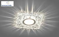 Декоративный встраиваемый светильник с LED  подсветкой Z-light  ZA329 LED , MR-16., фото 1