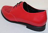 Туфли женские кожаные большого размера от производителя модель БР857, фото 4