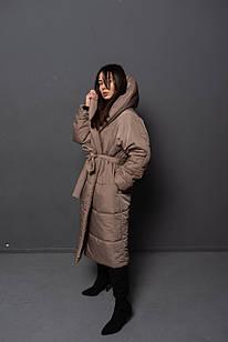 Куртка женская Woman's heel бежевая (М-1020)