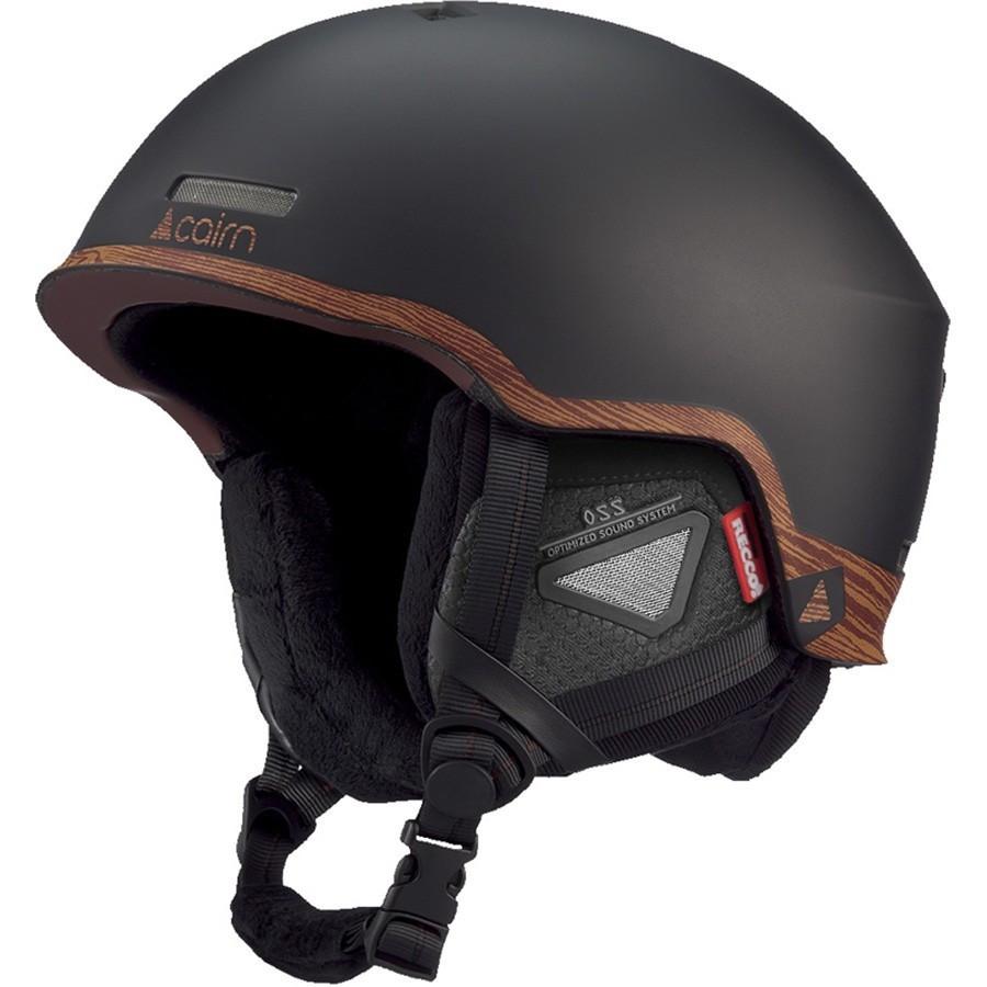 Шлем горнолыжный Cairn Centaure Rescue mat black-wood 56-58 (черный)