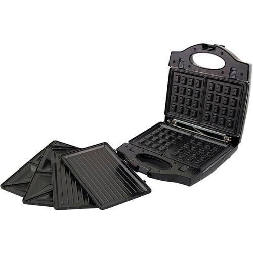 Сендвичница - вафельница - гриль Esperanza EKT006K Portabella black