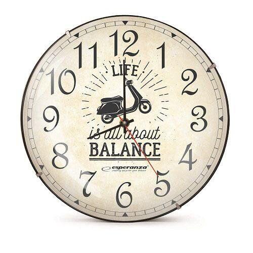 Часы настенные Esperanza EHC018S Seattle