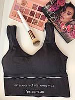 Топ, лиф Alaxendre weng Цвет серый, фото 1