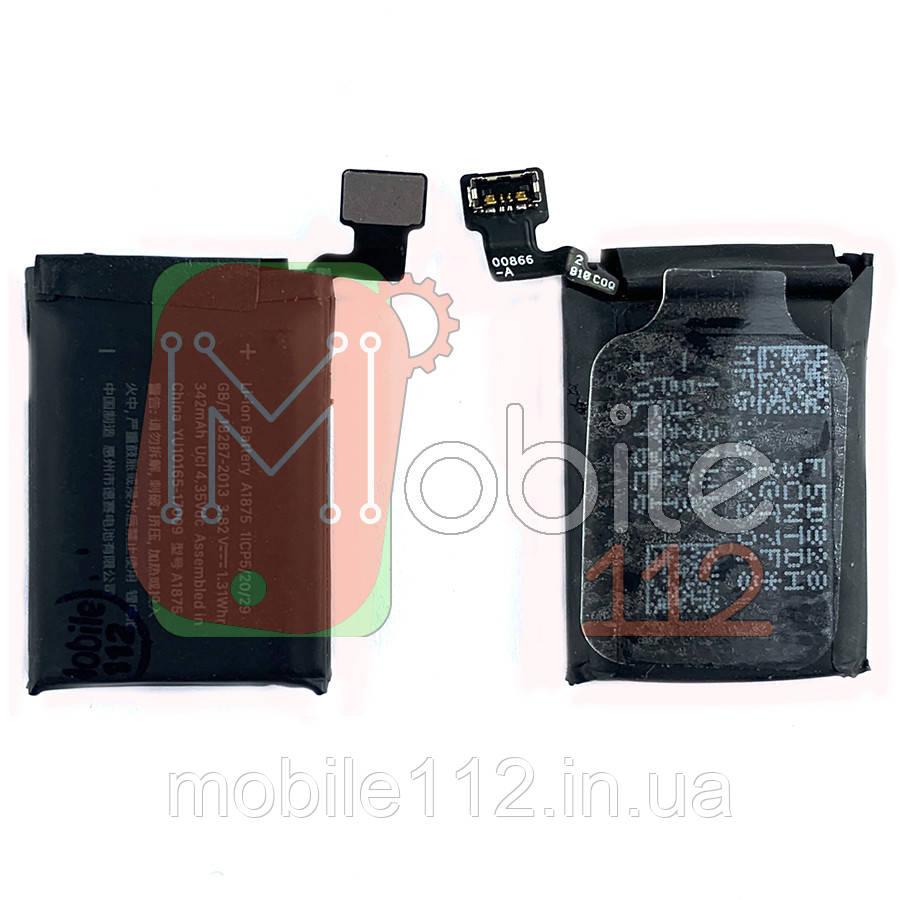 Аккумулятор (АКБ батарея) Apple Watch 3 42 мм GPS A1875 342 mAh оригинал Китай