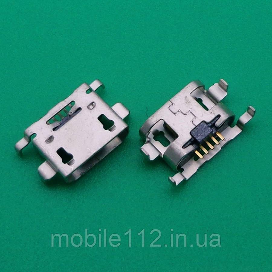 Разъем зарядки Sony C2104 Xperia L S36h/C2105/MT25, 5 pin, micro-USB