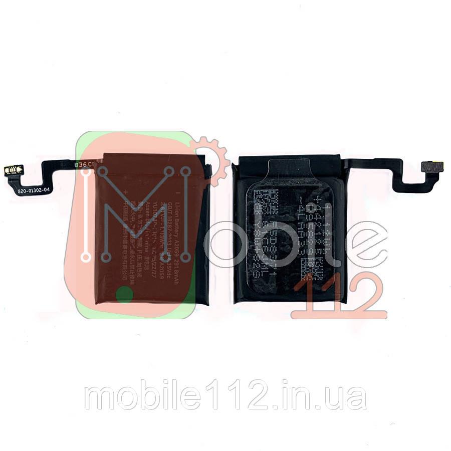 Аккумулятор (АКБ батарея) Apple Watch 4 44 мм A2059 221,8 mAh оригинал Китай