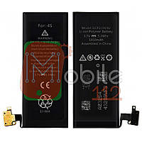 Аккумулятор (АКБ батарея) Apple iPhone 4S 1430 mAh A1387 оригинал Китай