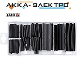 Кембрики термоусадочные набор 127шт 125°C 600V YATO (YT-06866), фото 2