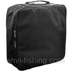 Сумка для катушек Anvi - 39x39x14 см - на 4 катушки - Черный