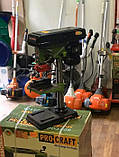 Сверлильный станок ProCraft BD-1750 16мм Патрон + Тески в комплекте, фото 3