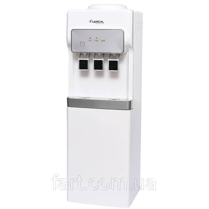 Кулер для воды LEXICAL LWD-6004-1 550W/85W напольный диспенсер воды