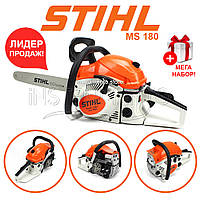 Бензопила Штиль STIHL MS 180 (2.8 кВт, шина 45 см) Пила Штиль MС 180