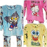 Детские махровые пижамы для мальчиков, фото 1