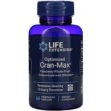"""Клюква с экстрактом гибискуса Life Extension """"Optimized Cran-Max Cranberry"""" (60 капсул)"""