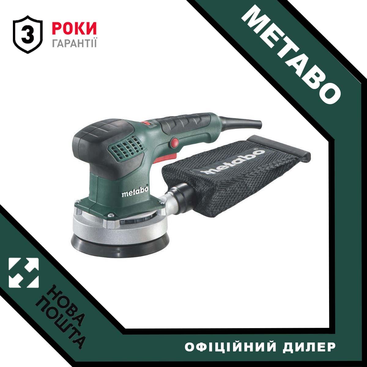Ексцентрикова шліфмашина Metabo SXE 3125 (600443000)